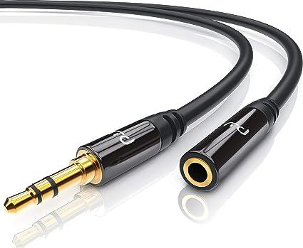 Csl Aux Kabel 3 5mm Audio Kabel 7 5m Klinkenkabel Elektronik