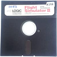 Commodore 64 / 128 Flight Simulator II Software - Vintage Software