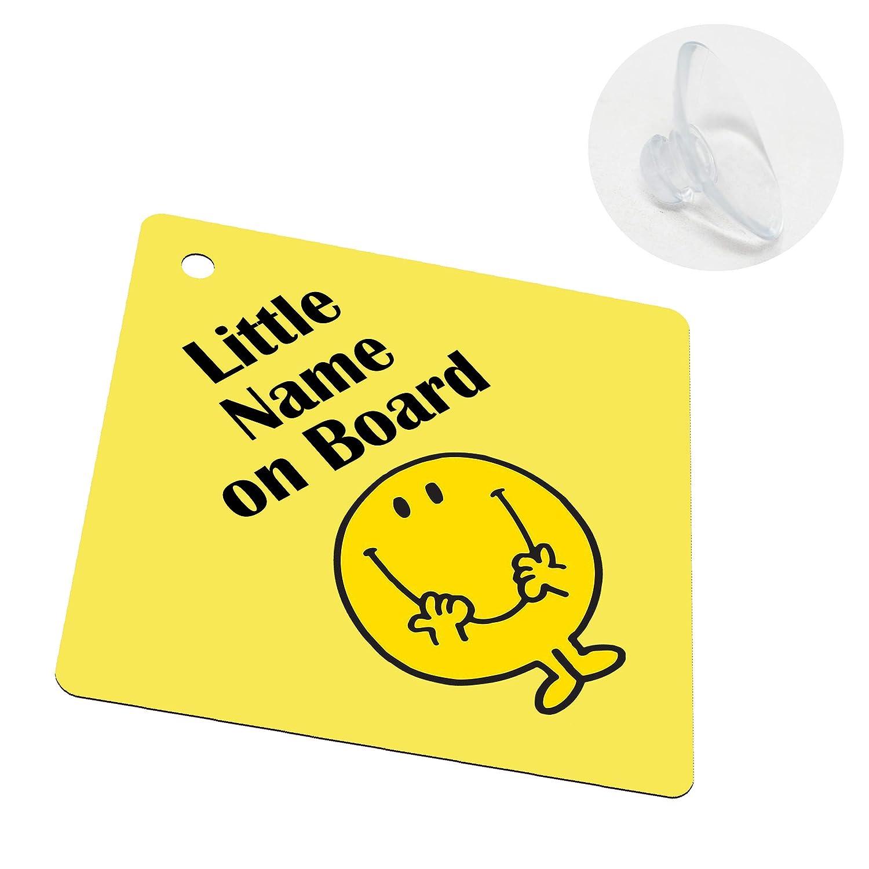 Unilaterale con Ventosa Bimbo a Bordo Segno per Bambini per Ragazzi e Ragazze I-CHOOSE LIMITED Personalizzata Il Tuo Nome Bambino Sticker Decorativo Auto