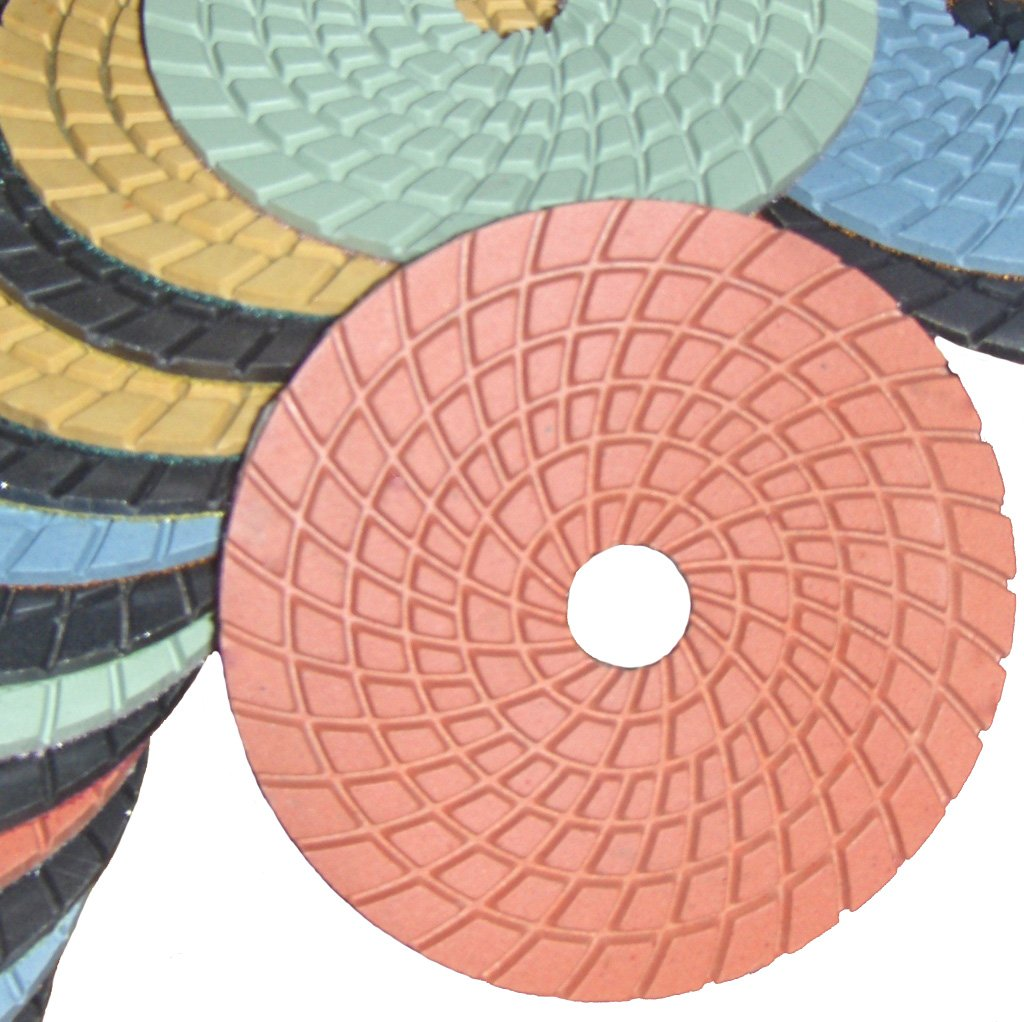 Diamond Polishing Pads 10 Pieces Set Grit 800 Professional Grade