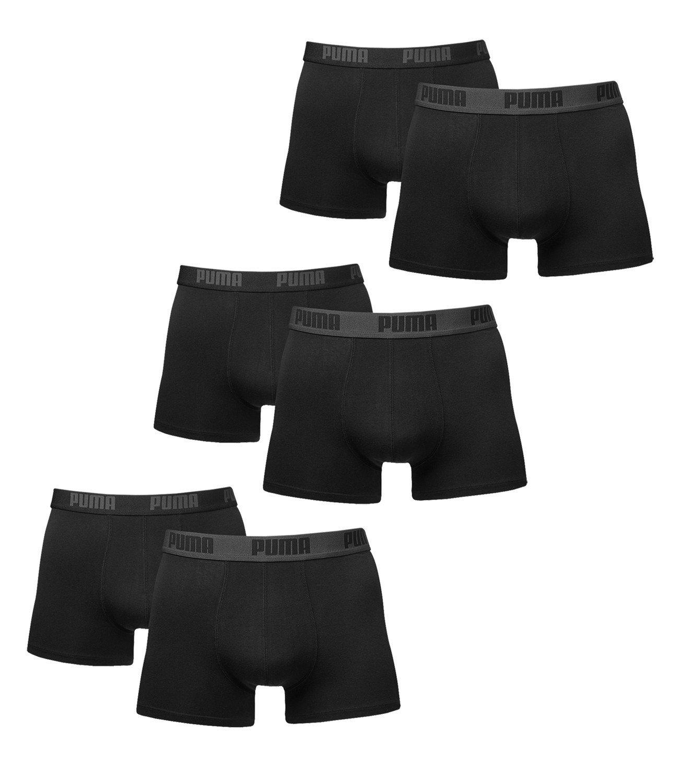 6 er Pack Puma Boxer Boxershorts Men Pant Underwear Black size XXL