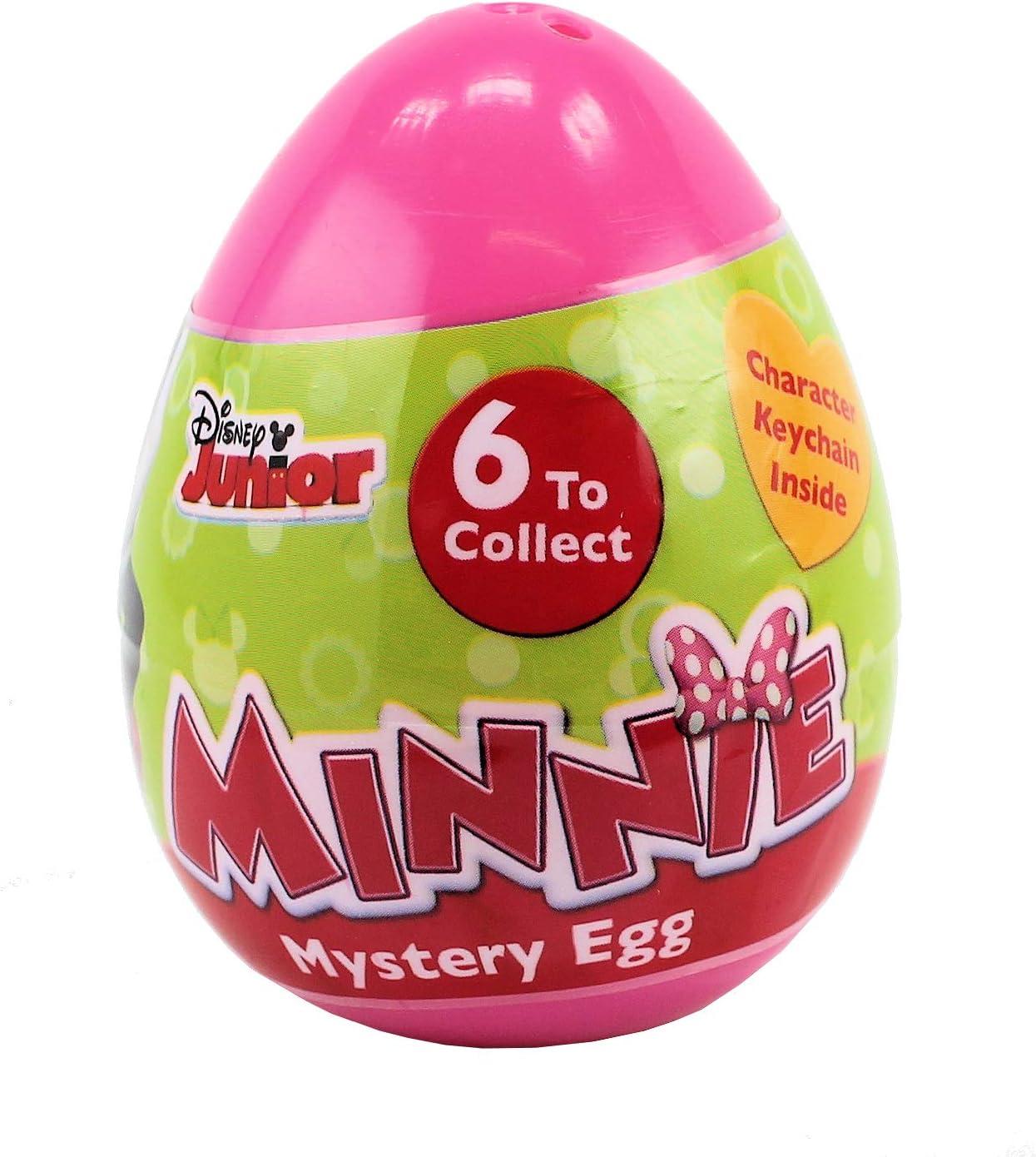 Ideal para Juguete de Pascua Minnie-Mouse Disney Mini Figura 3D Huevos misteriosos Bolsa de Regalo de Fiesta Paquete de 6