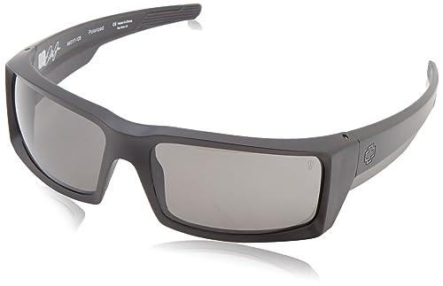 Amazon.com: Gafas de sol poralizados, negro mate, de Spy ...