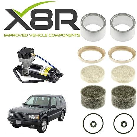 Land Rover Range Rover Classic Compresor De Suspensión Neumática Pistón maletero & Seal X2 x8r36