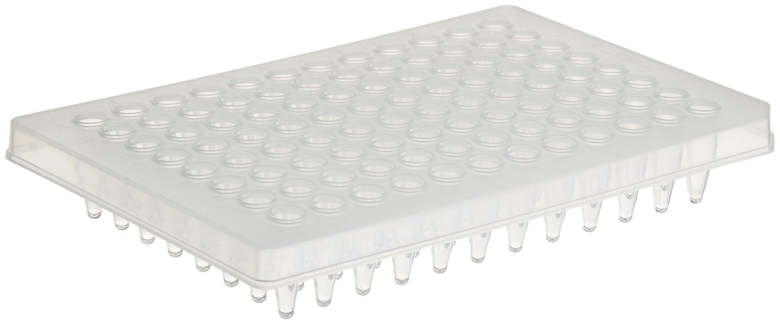 NEST Scientific USA 402301 Nest Scientific Usa 0.2 ml 96 Well PCR Plate, Semi Skirt, Clear