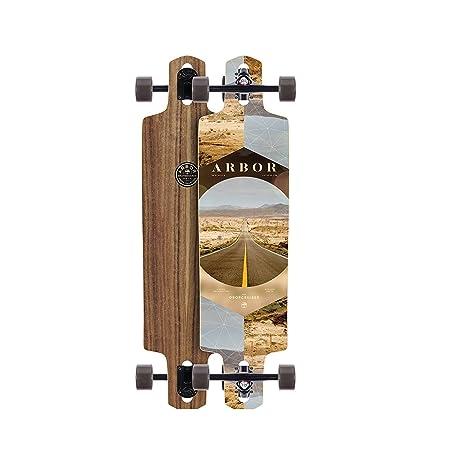 Arbor Dropcruiser PC 2017 Walnut Complete Longboard New Premium Setup