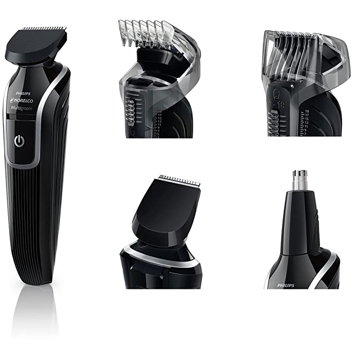 guards in different sizes of electric clippers