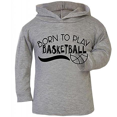 Sudadera de baloncesto con capucha para bebé de Born to Play, ideal para regalar a
