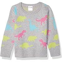 Marca Amazon - Spotted Zebra Pullover Crew Sweaters Niñas