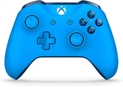 Microsoft - Mando Inalámbrico, Color Azul (Xbox One), Bluetooth: Amazon.es: Videojuegos