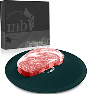 Maison & Beyond Defrosting Tray, Perfect Thawing Tray for Frozen Meat, Speedy Defrosting Plate for Meat, Green Thawing Plate, Quick Meat Thawing Board, Easy Thaw, Meat Defroster Tray