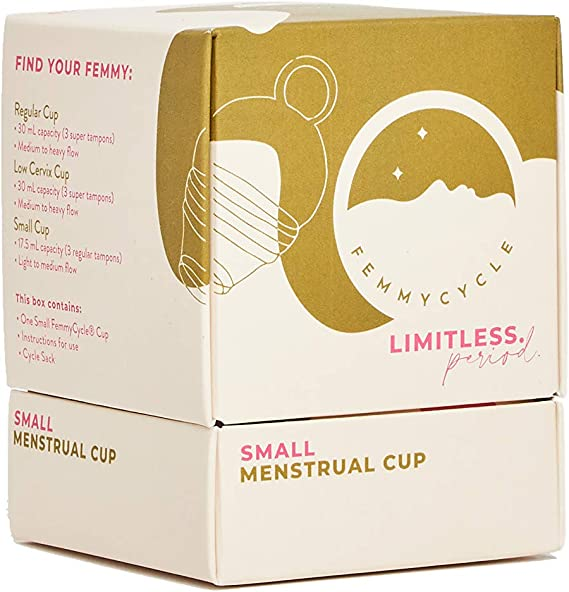 FemmyCycle Menstrual Cup/Copa Menstrual TEEN (pequena) Size