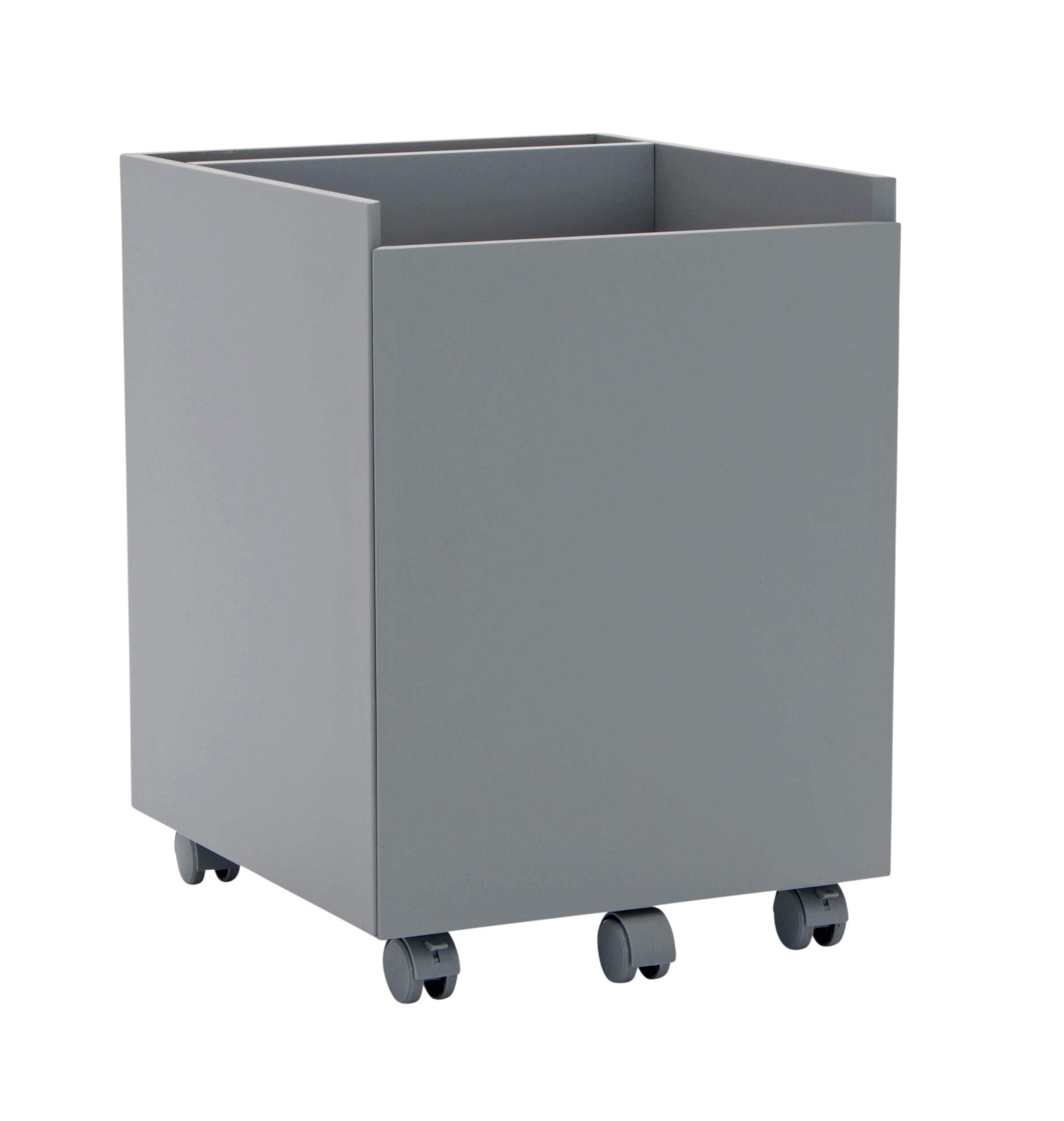 Calico Designs Niche Mobile File Cabinet, Gray by Calico Designs