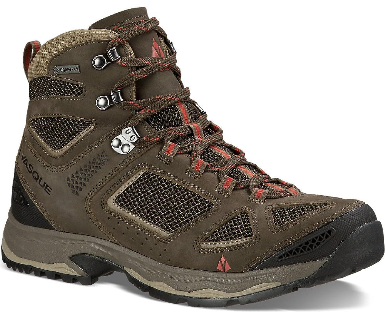 Vasque Men's Breeze III GTX Hiking Boots & Knit Cap Bundle