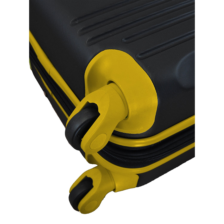 NCAA East Carolina Pirates 2-Piece Luggage Set by Denco (Image #6)
