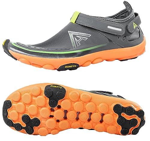 Amazon.com: Humtto - Zapatillas de malla de secado rápido ...