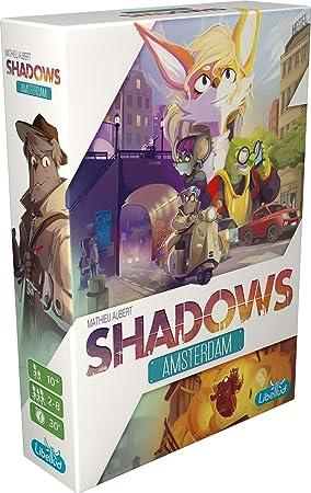 Asmodee lib0008 Shadows de Amsterdam, de Tablero: Amazon.es ...
