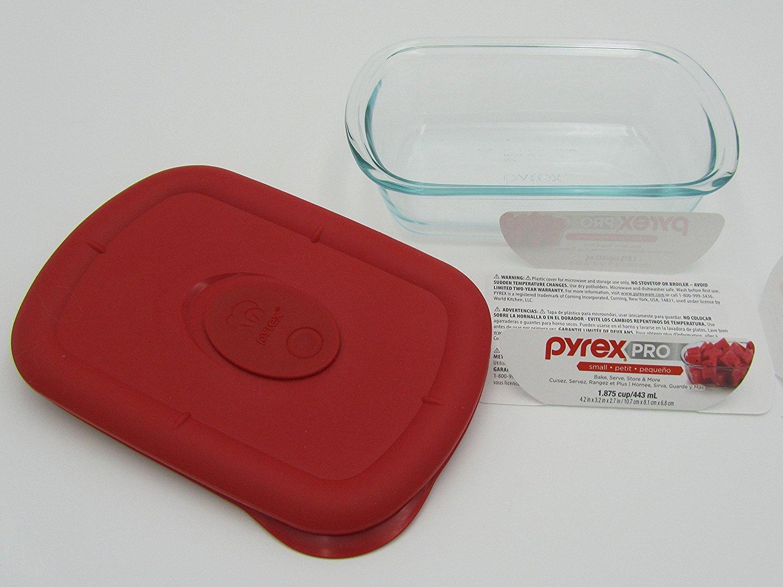 Pyrex Pro 1.875 taza rectangular con amapolas plástico ...