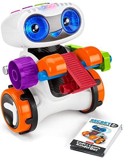 Fisher-Price Code 'n Learn Kinderbot, Interactive Preschool Robot Toy That Teaches Early Math, Problem Solving, and More Through Fun Coding Play
