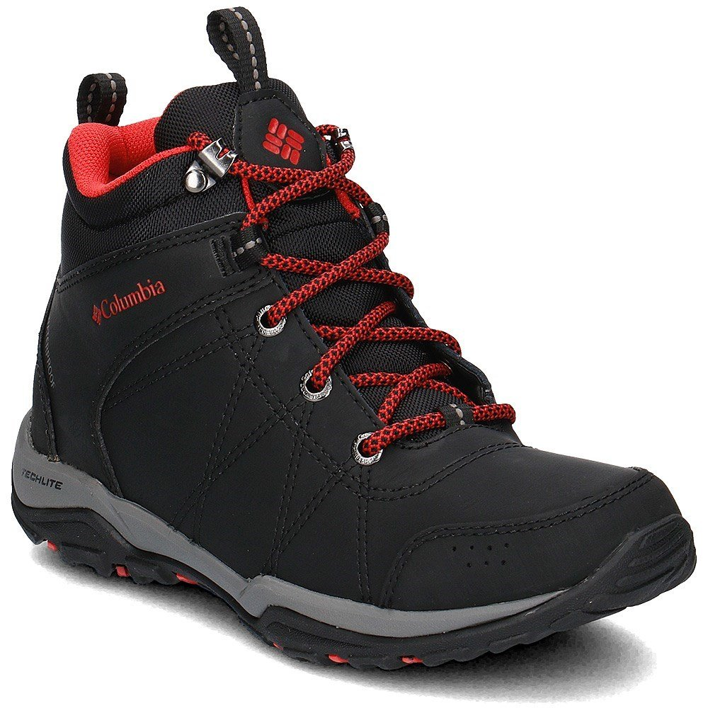Columbia Fire Venture Waterproof - BL1716010 - Color Black - Size: 5.0