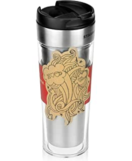 Amazoncom Starbucks Stainless Steel Create Your Own Tumbler 16