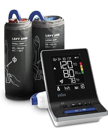 Braun ExactFit 3 - Tensiómetro de brazo para uso doméstico con dos tamaños de manguito