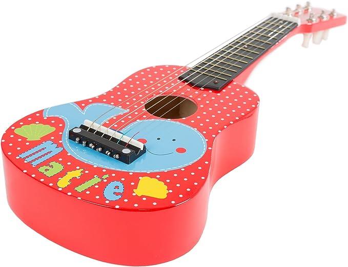 HEY! PLAY! Juguete para Guitarra acústica con 6 Cuerdas (se Puede ...