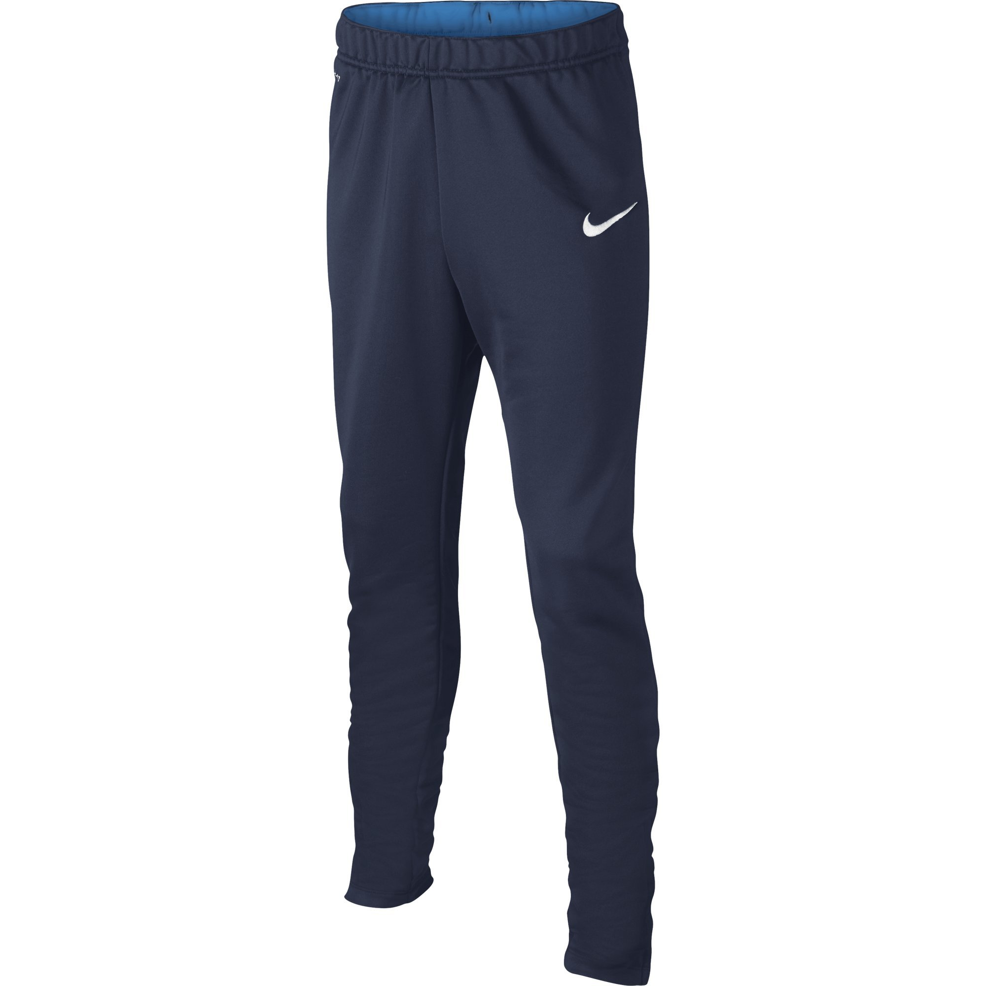 Nike Kids Boys' Academy Tech Pant (Little Big Kids), Midnight Navy/Light Photo Blue/White, SM (7-8 by Nike