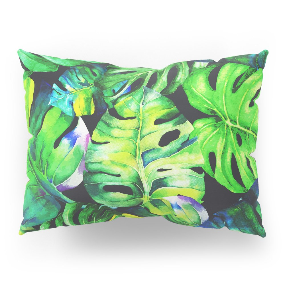 Society6 Tropical Plant Pillow Sham Standard (20'' x 26'') Set of 2
