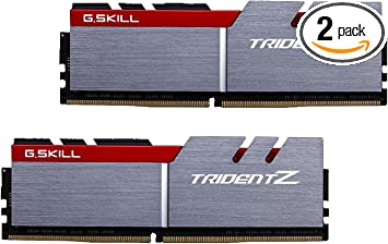 16GB G.Skill DDR4 Trident Z 3600Mhz PC4-28800 CL17 1.35V Dual Channel Kit 2x8GB