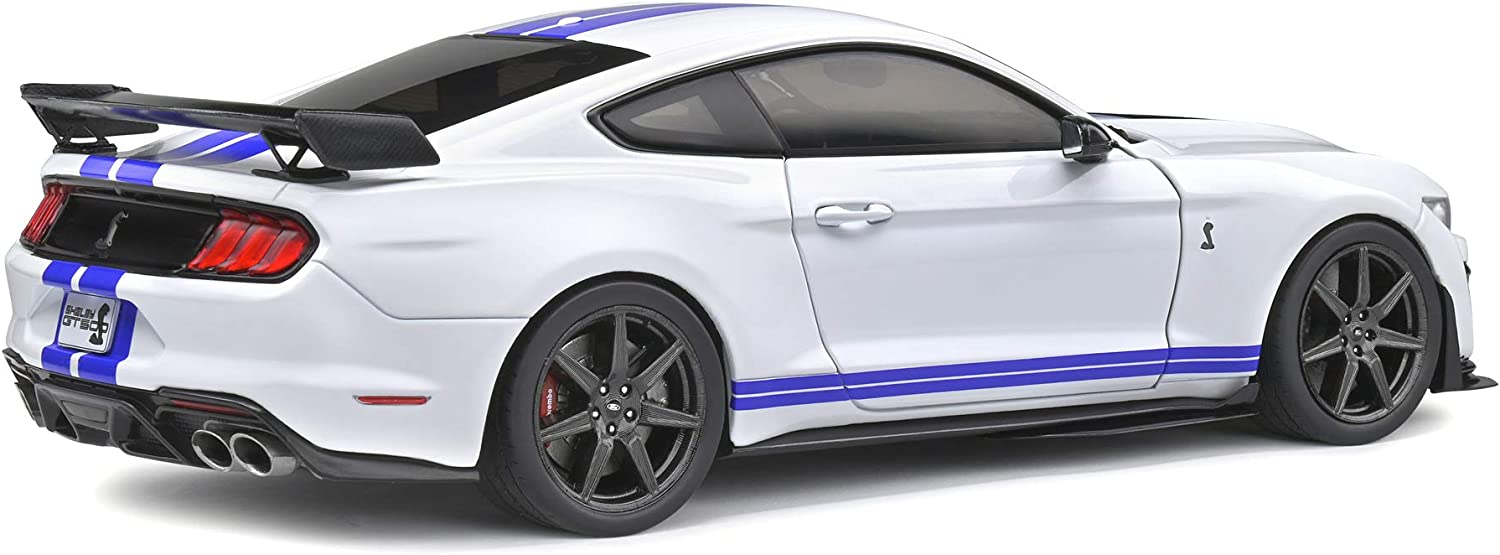 Solido 421186100 Ford Mustang Shelby GT500 2020 Model Car 1:18 Scale White
