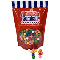 American Gumball Company Assorted Refill Gumballs 2 Pound Bag - .62 inch Small Gumballs...