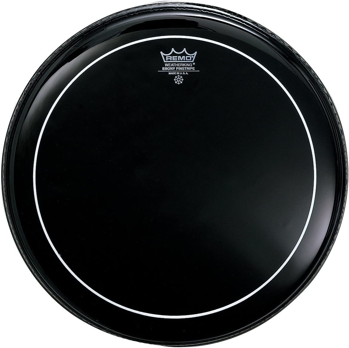Remo ES0606PS Ebony Pinstripe Drum Head, 6-Inch 71auXy3VgWL