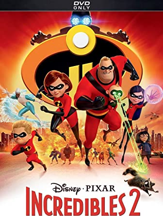 Amazon Com The Incredibles 2 Dvd Movies Tv