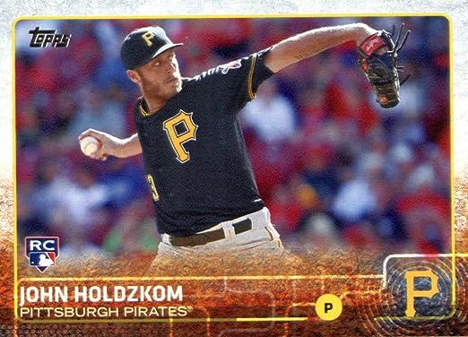 2015 Topps Career High Autographs #CH-JH John Holdzkom Pittsburgh Pirates Auto