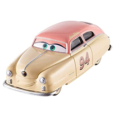 Disney Cars Pixar Die-Cast Louise Barnstormer Nash Vehicle: Toys & Games