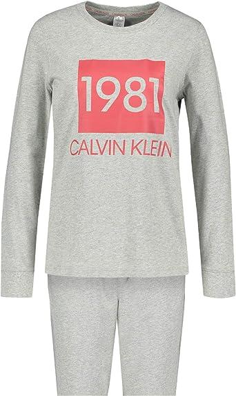 Calvin Klein - Conjunto de Pijama para Mujer 020 XL: Amazon ...