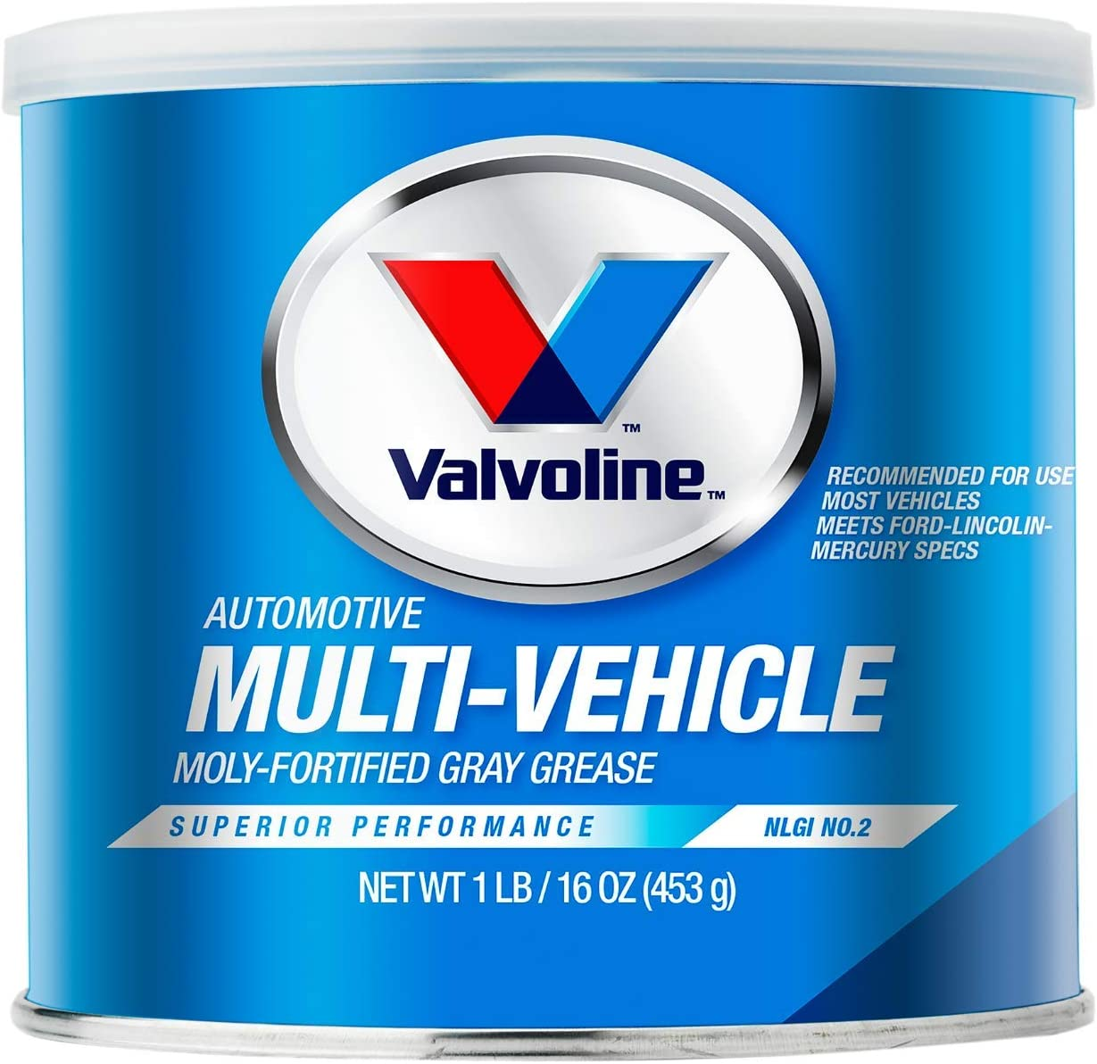 Valvoline Multi-Vehicle Moly-Fortified Gray Grease