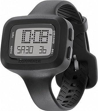 Converse Understatement - Reloj digital de mujer de cuarzo con correa de silicona negra (alarma, cronómetro) - sumergible a 30 metros: Converse: Amazon.es: Relojes