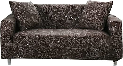 FORCHEER Couch Cover Stretch Arm Chair Large Sofa Slipcover Leather Furniture Protector from Pet for Living Room