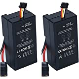 GIFI POWER 2 x Parrot Disco Battery 4000mAh 11.1v Lipo Battery for Parrot Disco Drone