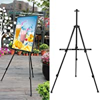 Popamazing Folding Artist Telescopic Field Studio Painting Easel Tripod Display Stand With A Free Carry Bag