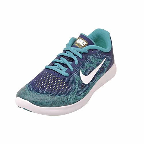 53ee0e37961a NIKE Boys Free RN 2017 904255 002 Blue Size  M US Big Kid  Amazon.co.uk   Shoes   Bags
