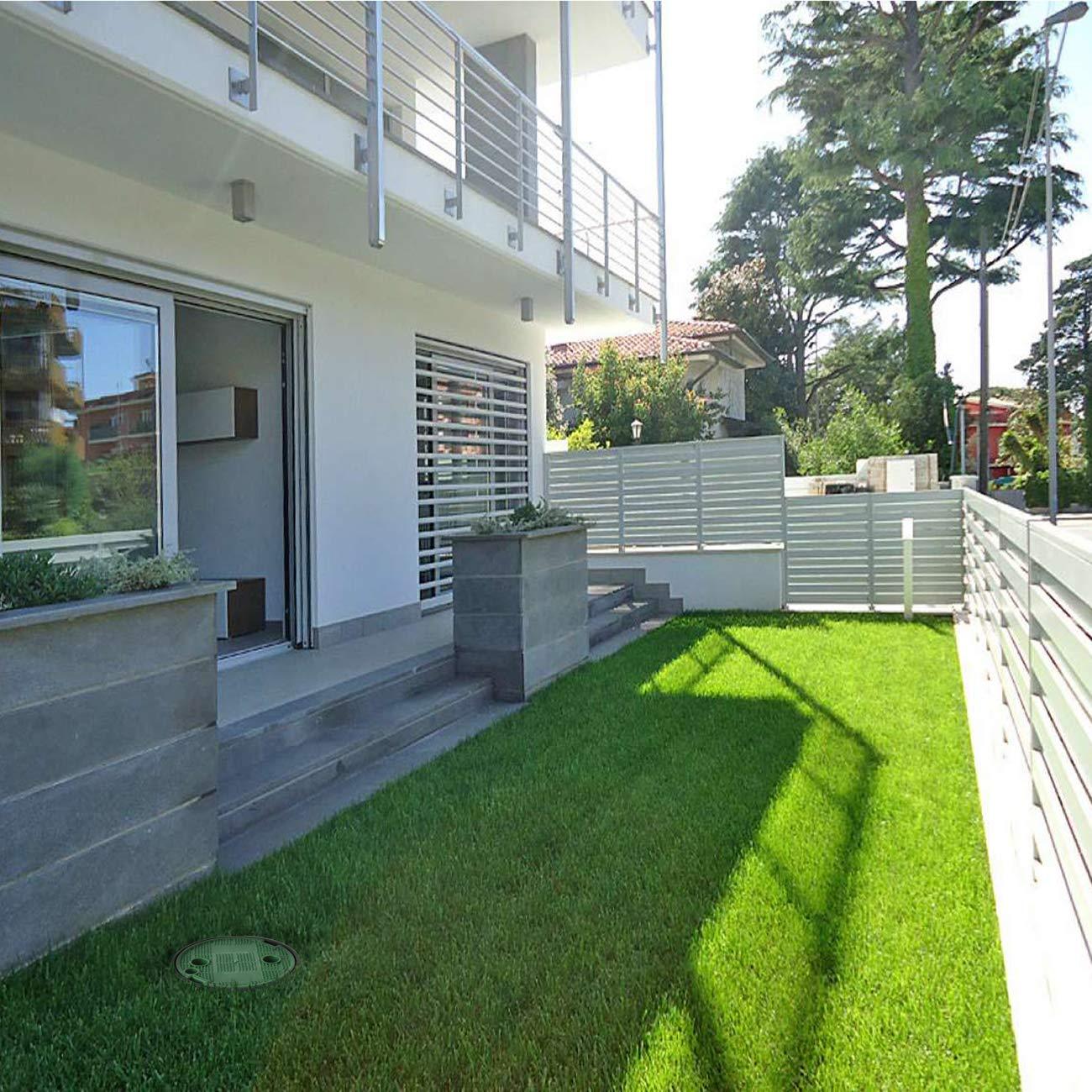 170/mm gr/ün First Plast pzcrp17/V-y Ventilbox Garten mit Deckel PEDONABILE