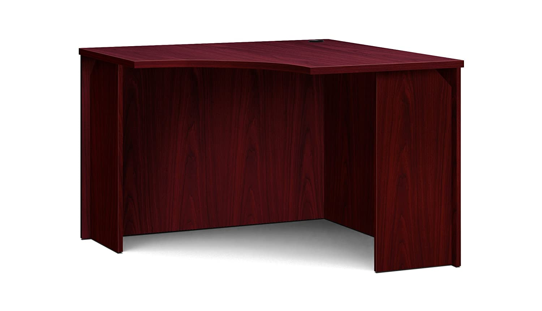 basyx by hon bl mahogany laminate office furniture eacorner unit rh amazon ca mahogany office tables mahogany executive office furniture