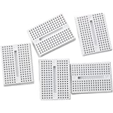 TOOGOO(R) 5x ZY-170 Mini Solderless Prototype Breadboard for Arduino Shield White