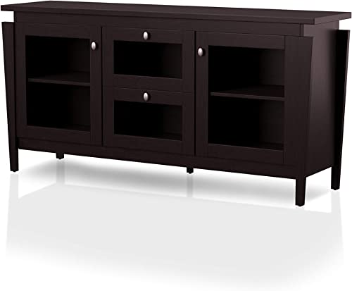 ioHOMES Cedric Modern 2-Drawer Rectangular TV Stand