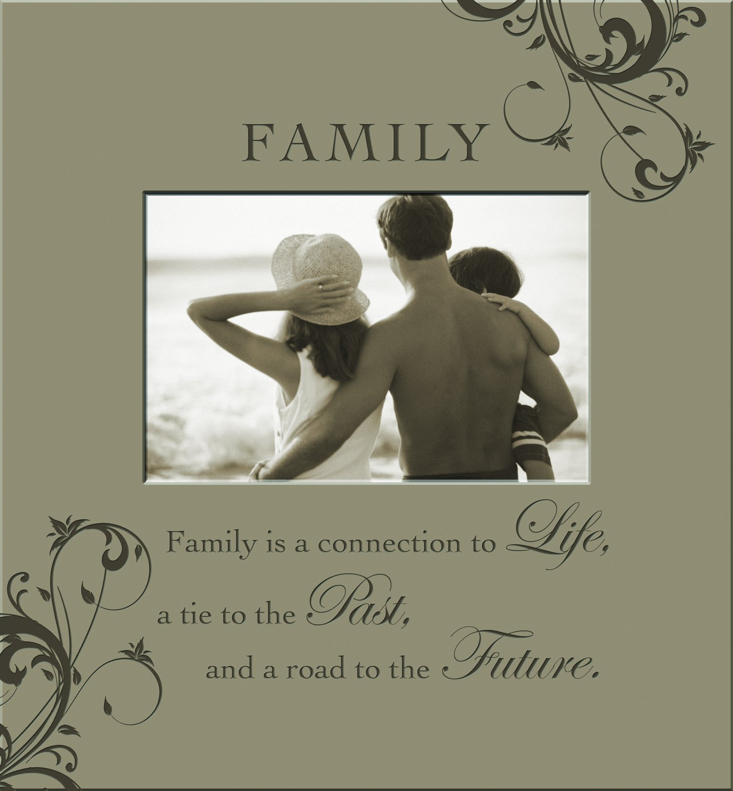 Havoc Gifts 6459-3 Family Engraved Photo Frame