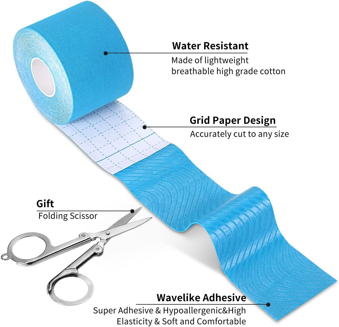Sports Kinesiology Tape Elastic Physio Muscle Tape PRO Pain Relief Good Quality