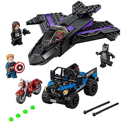 LEGO Marvel Super Heroes Black Panther Pursuit 76047 Toy: Toys & Games